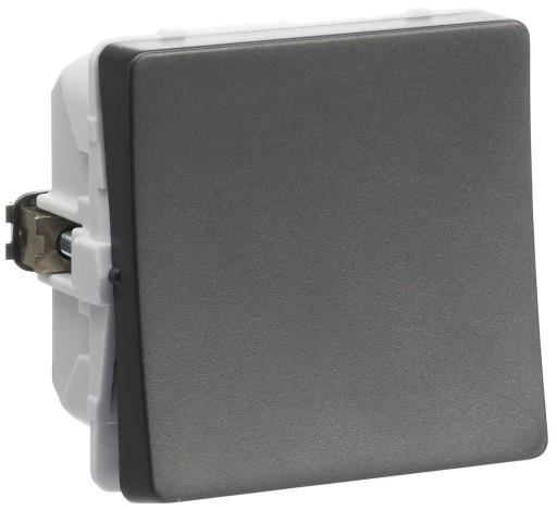 Billede af LK FUGA afbryder 1-pol, 1 modul - koksgrå