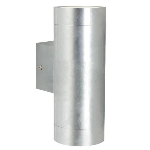 Nordlux Castor Maxi Dobbelt Udendørs Væglampe – Galvaniseret