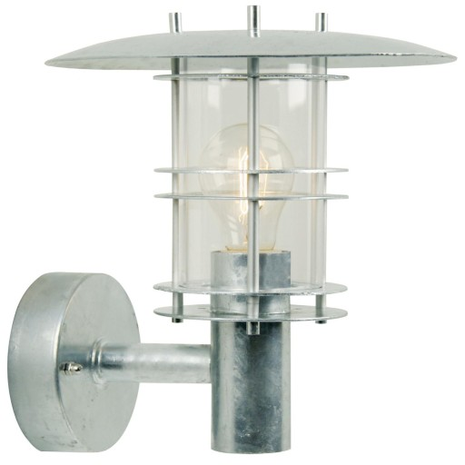 Billede af Nordlux Fredensborg Udendørs Væglampe - Galvaniseret