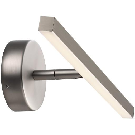 Nordlux IP S13 Gallerilampe-Børstet stål-B40 cm