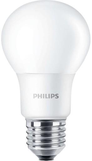 Billede af Philips LED E27 Standardpære-5,5W = 40W-Mat