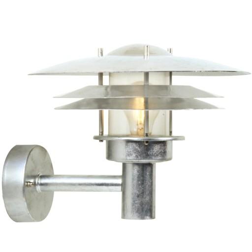 Billede af Nordlux Amalienborg Udendørs Væglampe - Galvaniseret