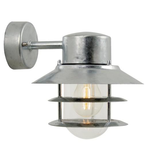 Billede af Nordlux Blokhus Down Udendørs Væglampe - Galvaniseret