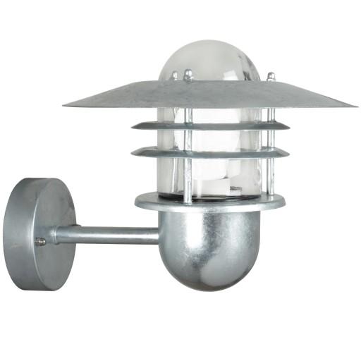 Billede af Nordlux Agger Udendørs Væglampe - Galvaniseret