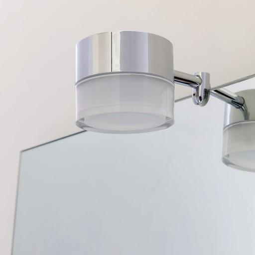 Loevschall Garonne spejllampe, krom thumbnail