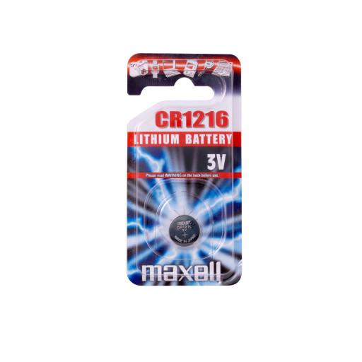 Maxell CR1216 Lithium batteri - 1 stk