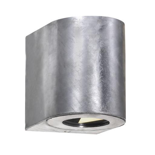 Billede af Nordlux Canto 2 LED Væglampe-Galvaniseret