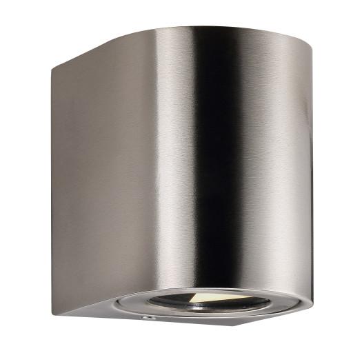 Billede af Nordlux Canto 2 LED Væglampe-Rustfrit stål