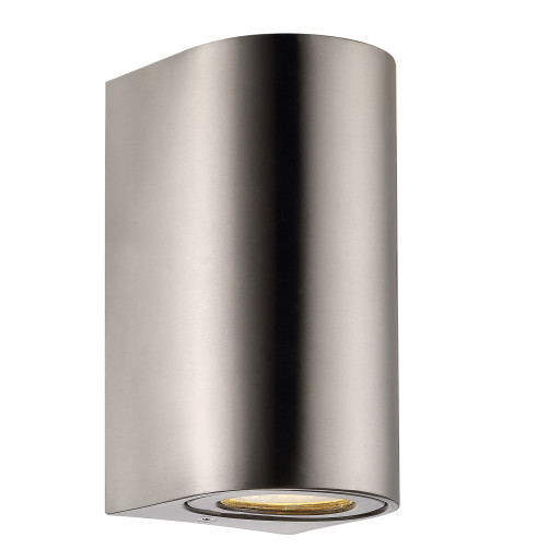 Billede af Nordlux Canto Maxi 2 Udendørs Væglampe - Rustfrit stål