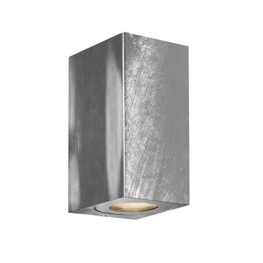 Nordlux Canto Maxi Kubi 2 Udendørs Væglampe - Galvaniseret