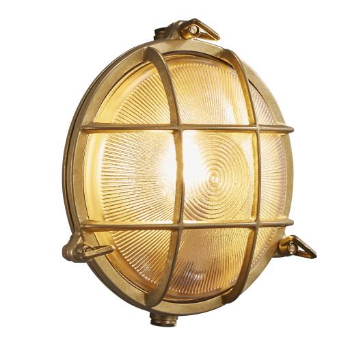 Billede af Nordlux Polperro Udendørs Væglampe - Messing