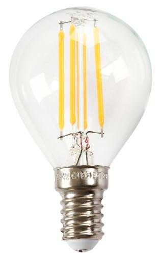 Køb e3light Proxima E14 klar dæmpbar LED kronepære – 4W