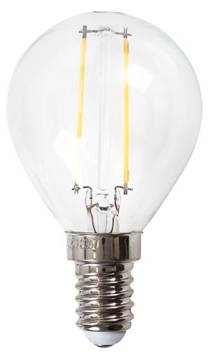Køb e3light Proxima E14 klar LED kronepære – 2,5W