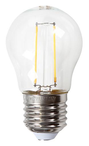 Køb e3light Proxima E27 klar LED kronepære – 2,5W