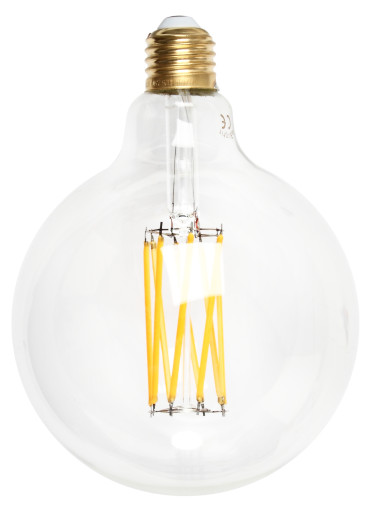 Køb e3light Vintage E27 klar dæmpbar LED globepære – 2,5W