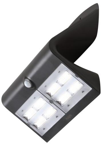 Køb Mylight væglampe med sensor & solcelle – 6,4W