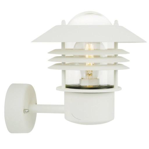Billede af Nordlux Vejers Udendørs Væglampe - Hvid