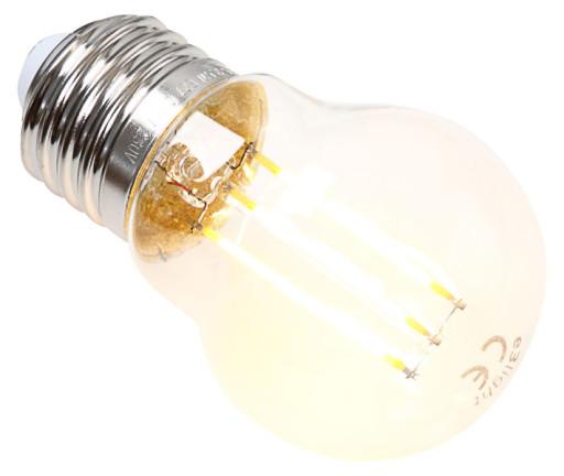 Køb e3light Proxima E27 klar dæmpbar LED kronepære – 5W