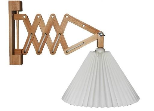 Billede af Alpe Design Sax væglampe-mørk træ