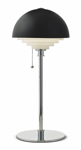 Billede af Herstal Retro Motown Bordlampe - Sort