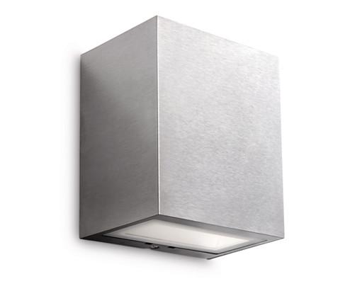 Philips Flagstone Udendørs Væglampe-Grå (Lys)