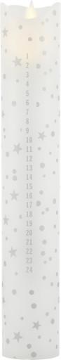 Sirius LED Kalenderlys med fjernbetjening-Rustik Sølv thumbnail