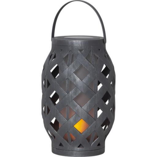 Star Trading Solcelle Lanterne med Flammelys thumbnail