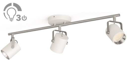 Billede af Philips LED Byre 3-Spot