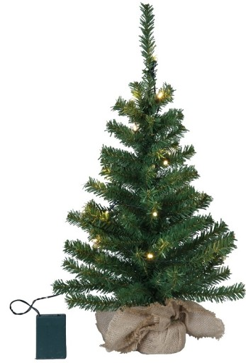 Billede af Star Trading Juletræ m/LED lys-H60 cm