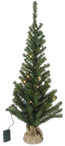 Star Trading Juletræ m/LED lys-H90 cm
