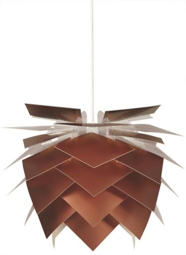 DybergLarsen PineApple Pendel - Basic-Kobber (Børstet/mat)-Ø45 cm