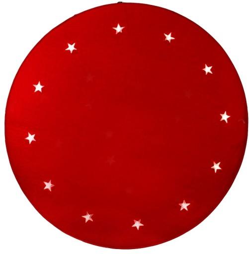 Billede af Star Trading Juletræstæppe-Rød