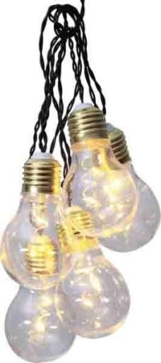 Star Trading lyskæde med lyspærer thumbnail