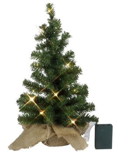 Billede af Star Trading Juletræ m/LED lys-H45 cm