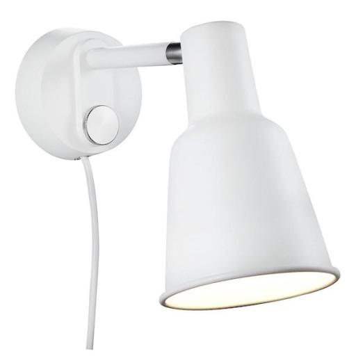 DFTP Nordlux Patton Væglampe-Hvid