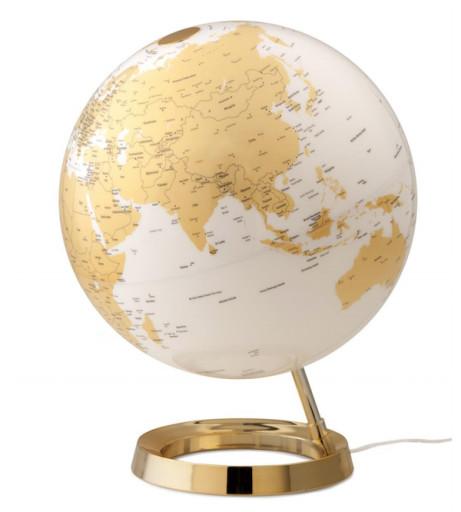 Atmosphere Gold Globus Bordlampe