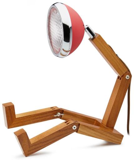 Mini Wattson Bordlampe-Rød thumbnail