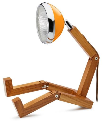 Mini Wattson Bordlampe-Orange thumbnail