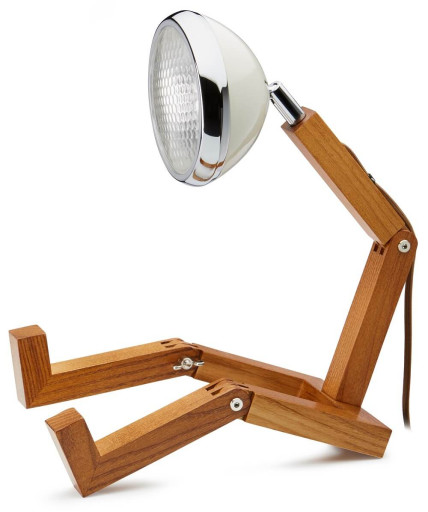 Mini Wattson Bordlampe-Hvid thumbnail