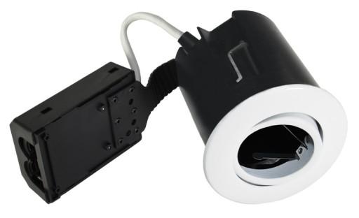 Billede af Nordtronic HIGH Indbygningsspot - Quick Install-Hvid (Mat)