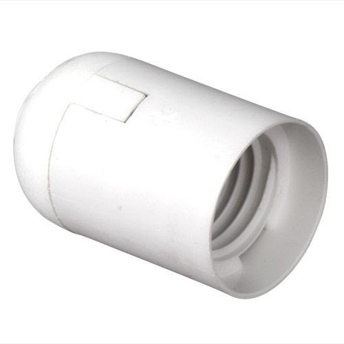 Plastfatning E27 - Hvid thumbnail