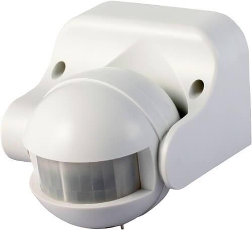 Bevægelsessensor Udendørs 180 grader-Hvid thumbnail
