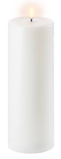 Uyuni LED Bloklys 25 cm - Hvid thumbnail