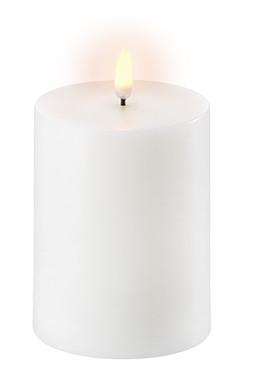 Uyuni LED Bloklys 13 cm - Hvid thumbnail