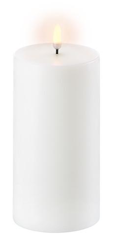 Uyuni LED Bloklys 18 cm - Hvid thumbnail