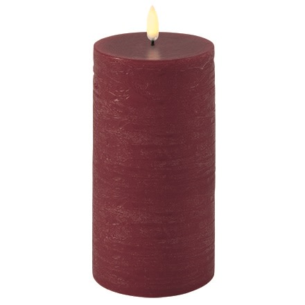 Uyuni LED Bloklys 15 cm - Rød