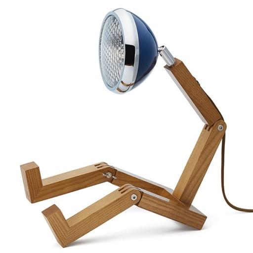 Mr Wattson Bordlampe-Blå thumbnail