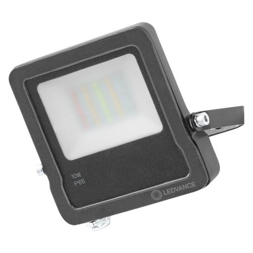 LEDvance Smart+ Floodlight LED projektør - 10W - RGB - WiFi - grå thumbnail