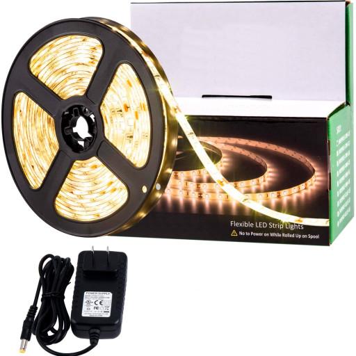 Billede af ALL-Light 5m. LED bånd - varm hvid