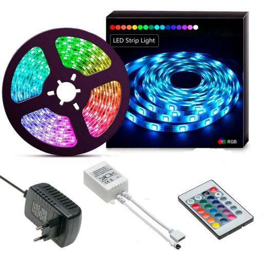 Billede af ALL-Light 5m. LED bånd - farveskift